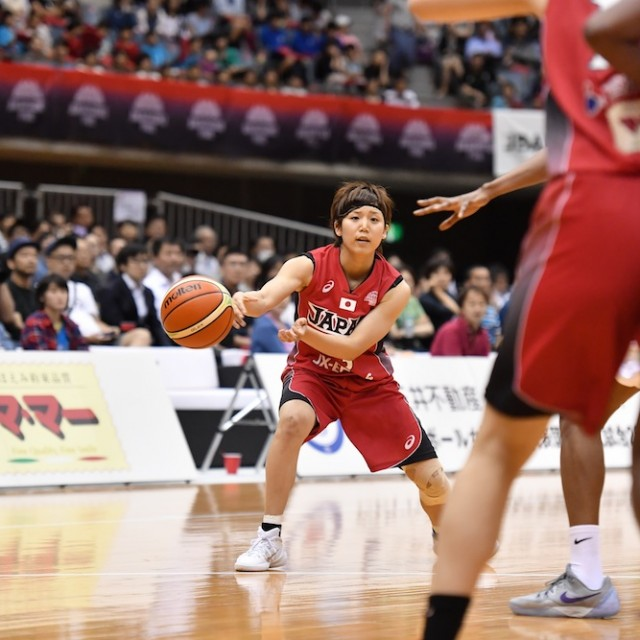 パスを出す#13町田 瑠唯選手